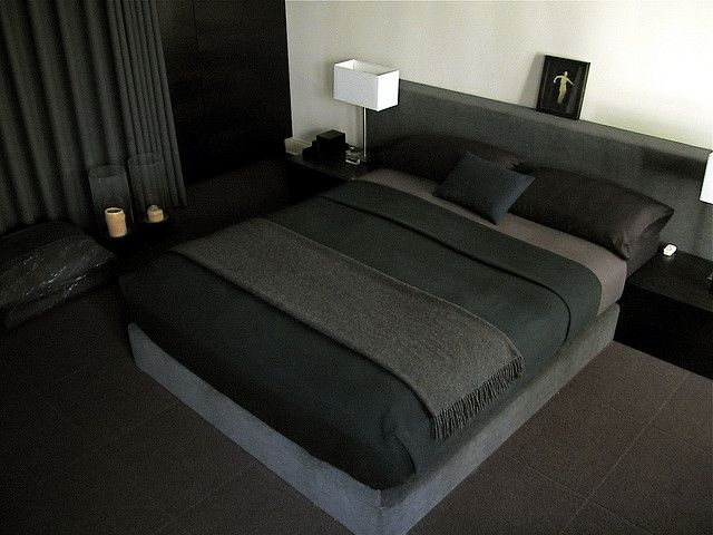 Bed on the floor :)