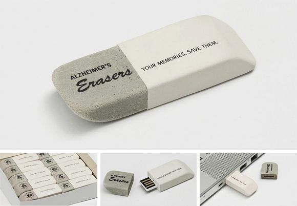 Now this makes us feel nostalgic; an eraser shaped USB flash drive. Did you know that you can add your company logo to these eraser shaped flash drives? http://www.premiumusb.com/catalog/custom-usb-flash-drives_29.htm