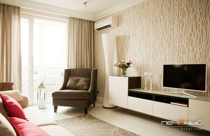 Дизайн гостиной - Студия дизайна Антона Печёного