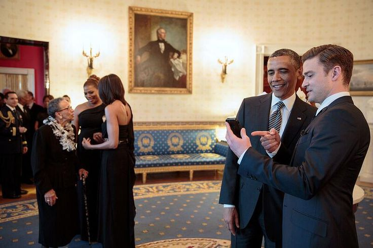 Twitter / BarackObama: Suits and ties.