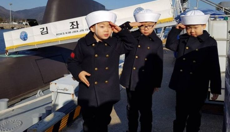 Daehan, Minguk, And Manse Are Dapper Sailors In New Update From Song Il-gook