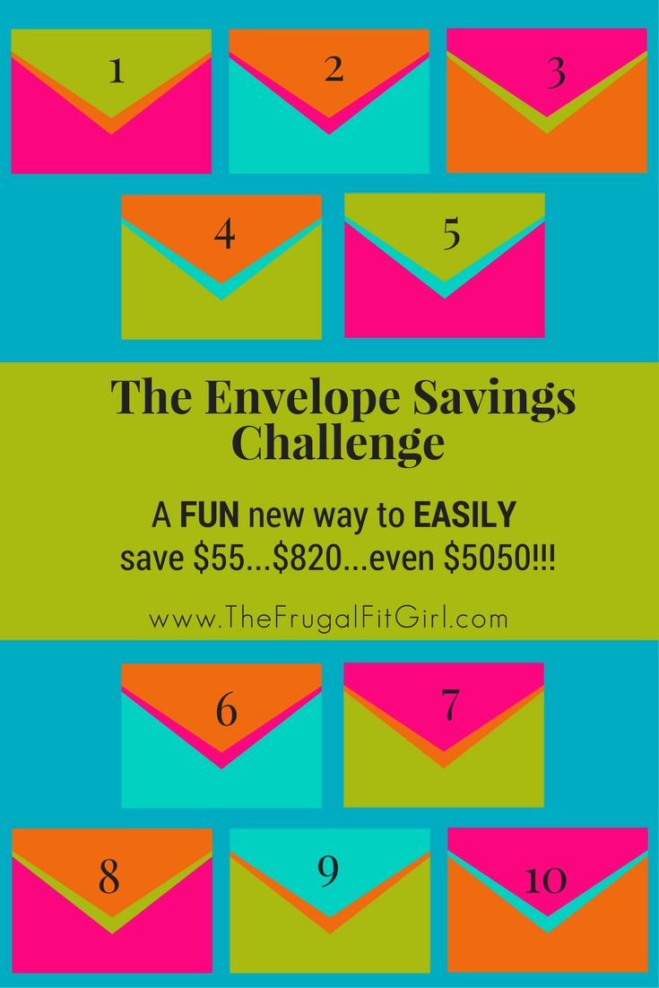 Envelope Savings Challenge | Saving Money | Getting Out Of Debt | How To Budget | Budgeting | Ways to Save Money