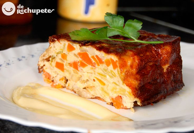 Pastel de verduras - Recetasderechupete.com