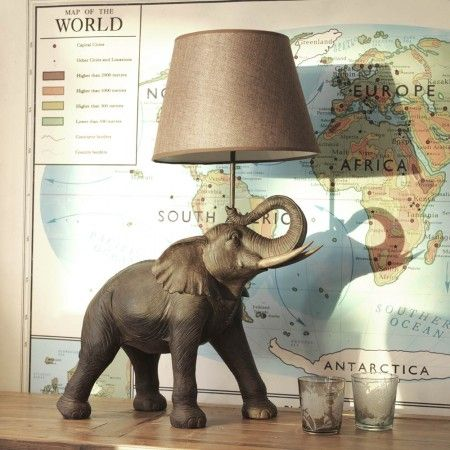 Elephant Table Lamp | Lighting | Graham and Green