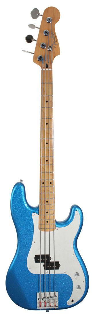 Fender Steve Harris Precision Electric Bass Guitar Royal Blue Metallic | Rainbow Guitars
