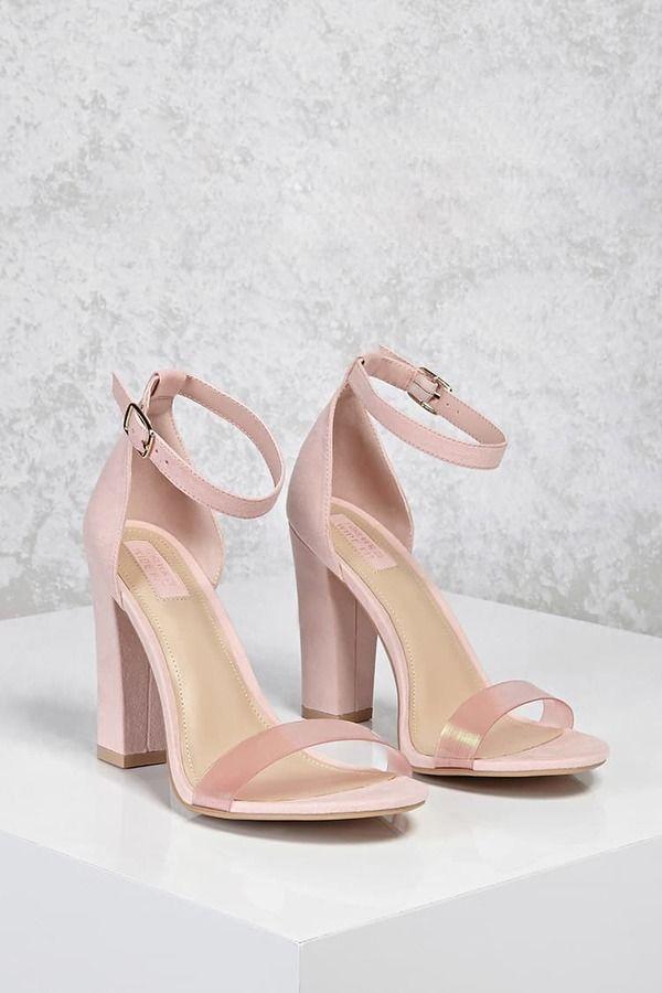 f40b0c306c79 FOREVER 21 Iridescent Strap Heels (Wide)  shoes  pumps  heels   pumpshoesheels