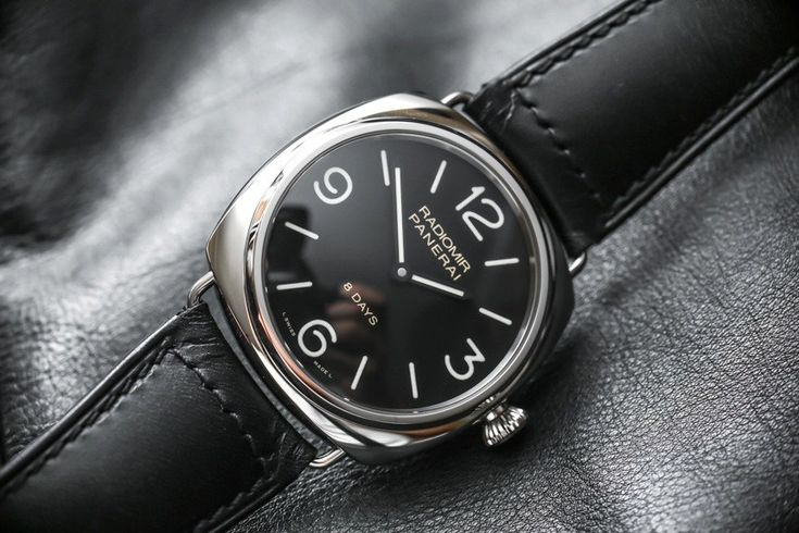 Panerai Radiomir Black Seal 8 Days PAM610 Watch Review Wrist Time Reviews