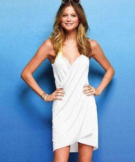 Vestido / Pareo de playa - Blanco Antes: 25,00 €16,50 €