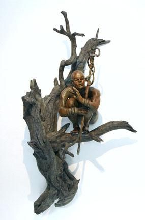"""The Sentinel"" by Renzo Bronze Sculpture Edition Size: 55 SN"