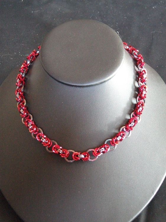 Flat Byzantine Necklace Available on TRADE through Trad. Commerce Exchange! http://tandcglobal.com