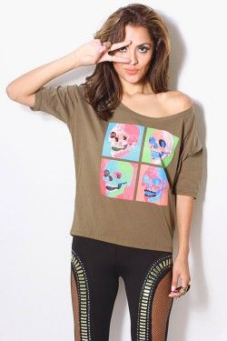 Skull top 29.95 at Destiny