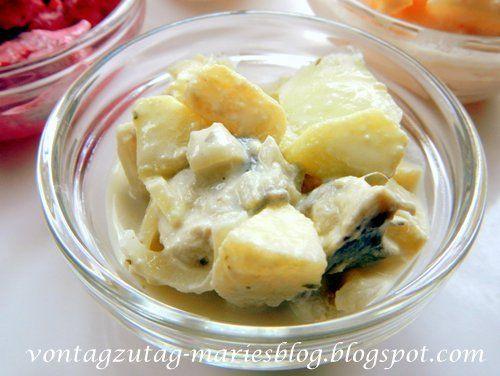 Von Tag zu Tag - Maries Blog: Wiener Heringsalat