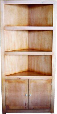Las 25 mejores ideas sobre esquineros de madera en pinterest repisas de madera nichos para - Imagenes de muebles esquineros ...
