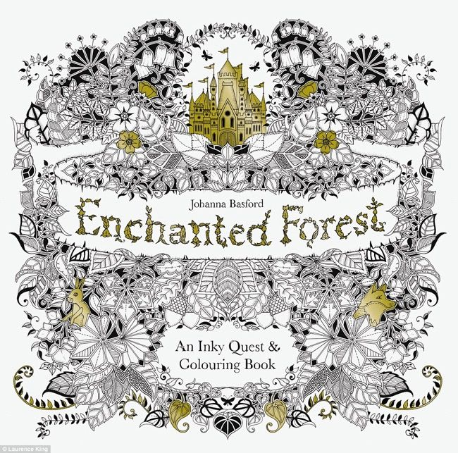 Enchanted Forest An Inky Quest Coloring Book Johanna Basford 9781780674889 TT