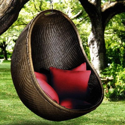outback woven bubble chair