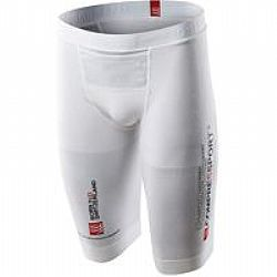 Compressport Pro Racing Triathlon Short (Unisex)-(Ασπρο)