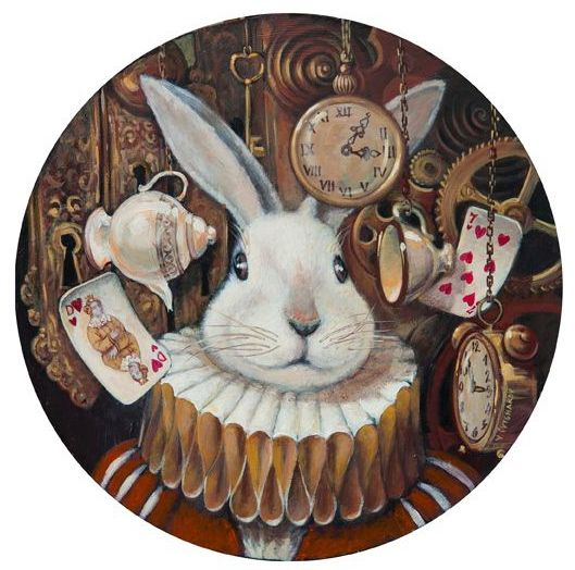 WHITE RABBIT - ALICE IN WONDERLAND BY VLADIMIR OVTCHAROV