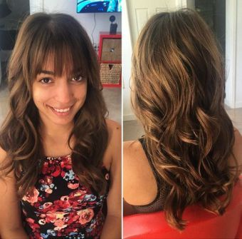 25 best ideas about Bangs for long hair on Pinterest  Bangs long