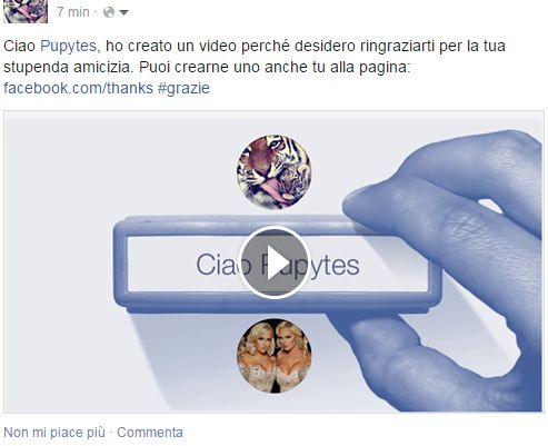 to see my video: https://www.facebook.com/dany.italiana to make your videos:  https://www.facebook.com/thanks