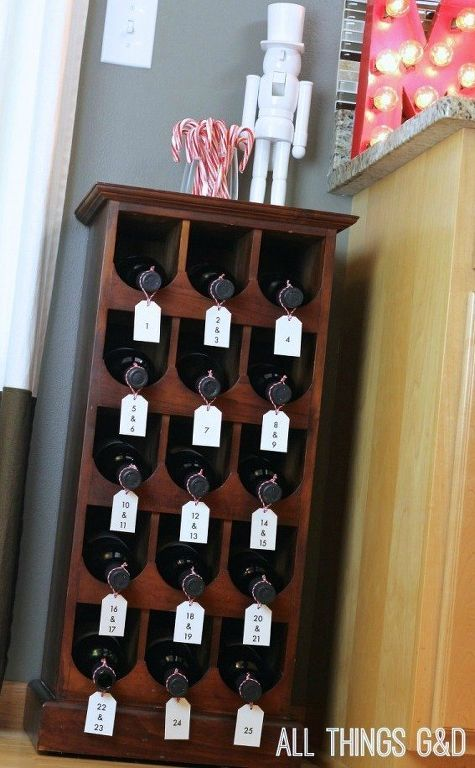 Romantic Advent Calendar Ideas : Images about wine on pinterest bottle