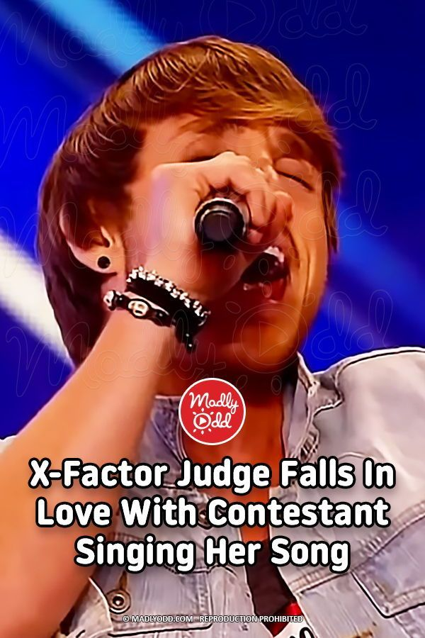 X Factor Judge Falls In Love With Contestant Singing Her Song She Song Songs Singing