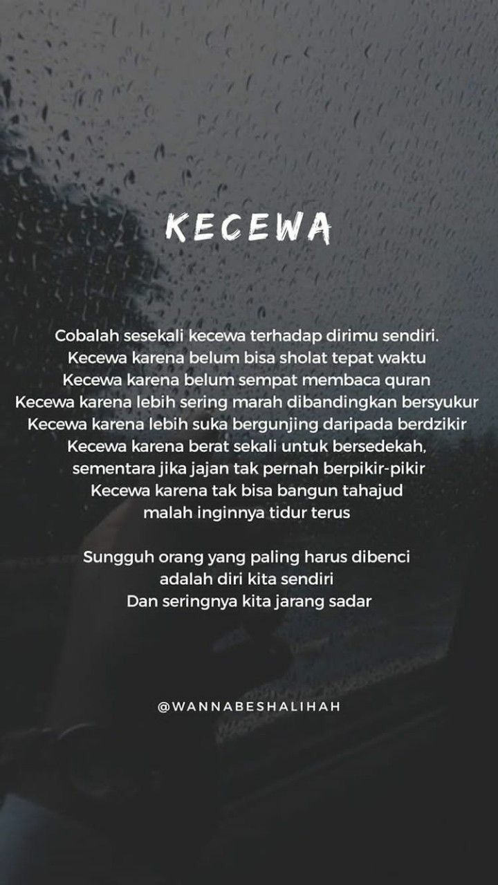 Pin Oleh Icha Shabrina Di Icha Islamic Quotes Kata Kata Indah