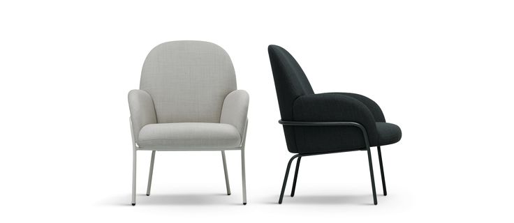 Sling armchair made by Fogia, sold in the U.S. by Scandinavian Design, Inc.