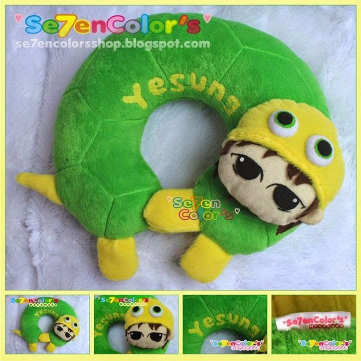 YESUNG of SUPER JUNIOR Neck Pillow - Turtle Ver.