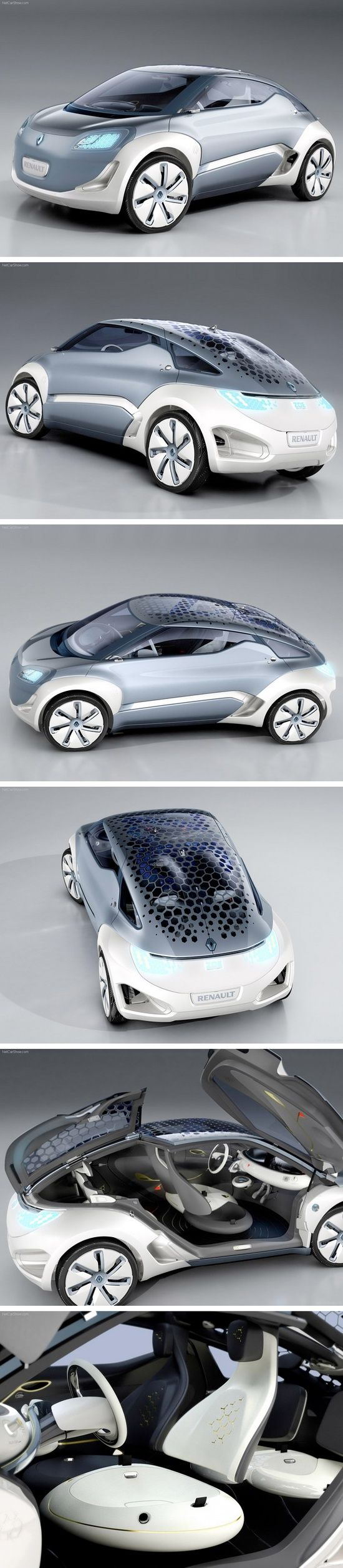 Renault zoe zero emission concept 2009 from http www