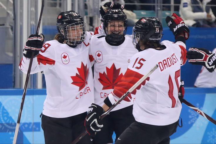 Canada women beat Russia 5-0 will meet US in hockey final