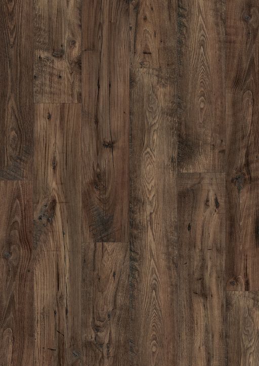 Quickstep Eligna Wide Reclaimed Chestnut Brown Planks Laminate Flooring 8 Mm Quickstep