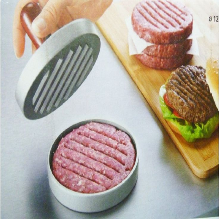 Cooking tools Hamburger Patties Maker Burger Hamburger Press Meat Press Cookware Kitchen Dining Bar Tool Hot