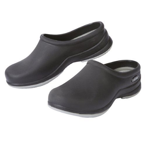 "Unisex ""Revive"" Slip-Resistant Medical Clog Shoe by Landau Scrubs Landau. $39.99. Enhanced slip-resistant all rubber outsole. Items usually ship the next business day. FREE SHIPPING on all orders over $100 via UPS Ground. Moisture wicking sockliner keeps feet drier and minimizes odor.. Women's Sizing - Men order 2 sizes larger (Women's 11 = Men's 9). Longer lasting EVA footbed provide extra cushion and support."