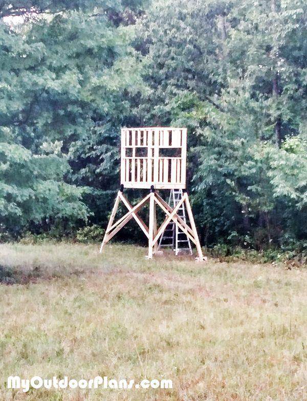 Diy Deer Shooting Blind Deer Blind Plans Pinterest