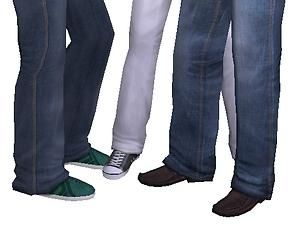 Mod The Sims - H&M separate Jeans for your Elders