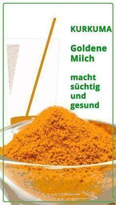 Kurkuma Latte, Goldene Milch, oder auch Turmeric M…