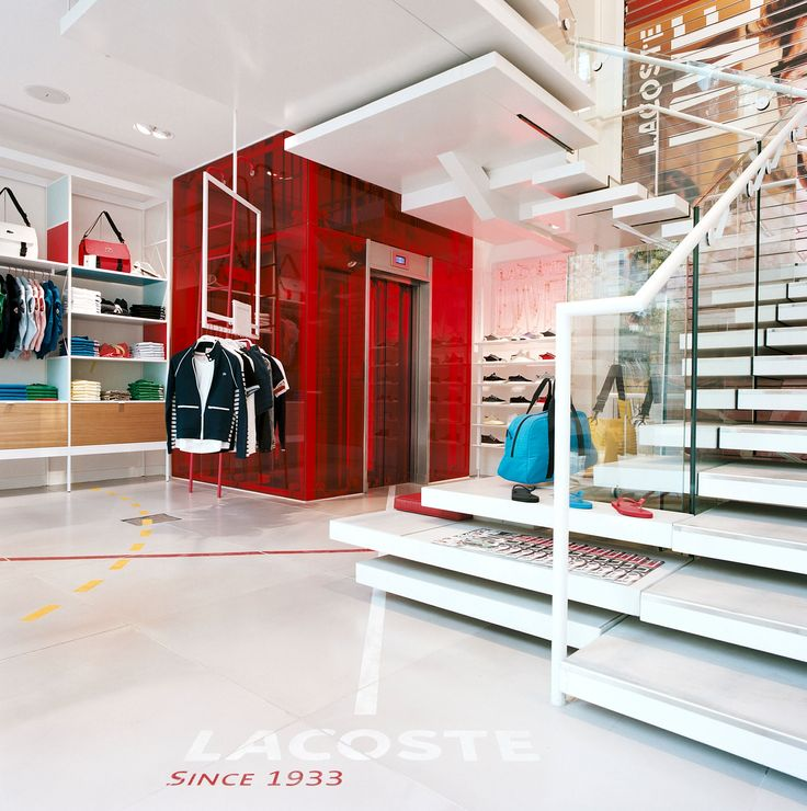 Lacoste flagship store