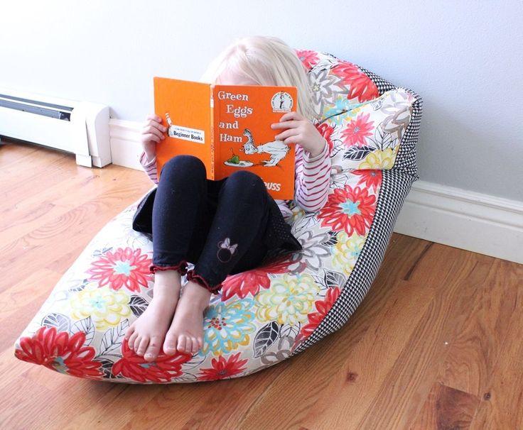 super simple diy kids bean bag chair a stepbystep tutorial kids bean bag chairs kids bean bags and bean bag chair