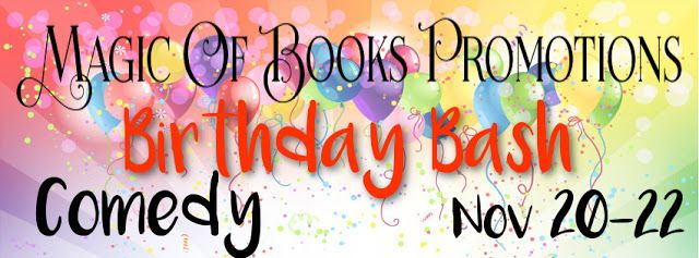 Tome Tender: Magic of Books Birthday Bash - Comedy #Giveaway