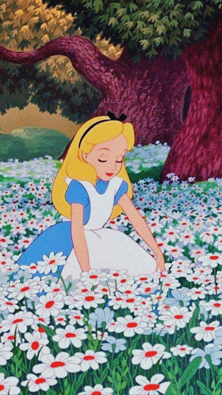 Alice In Wonderland 1951 Phone Wallpaper Moviemania Alice In Wonderland Cartoon Alice In Wonderland Disney Alice In Wonderland 1951
