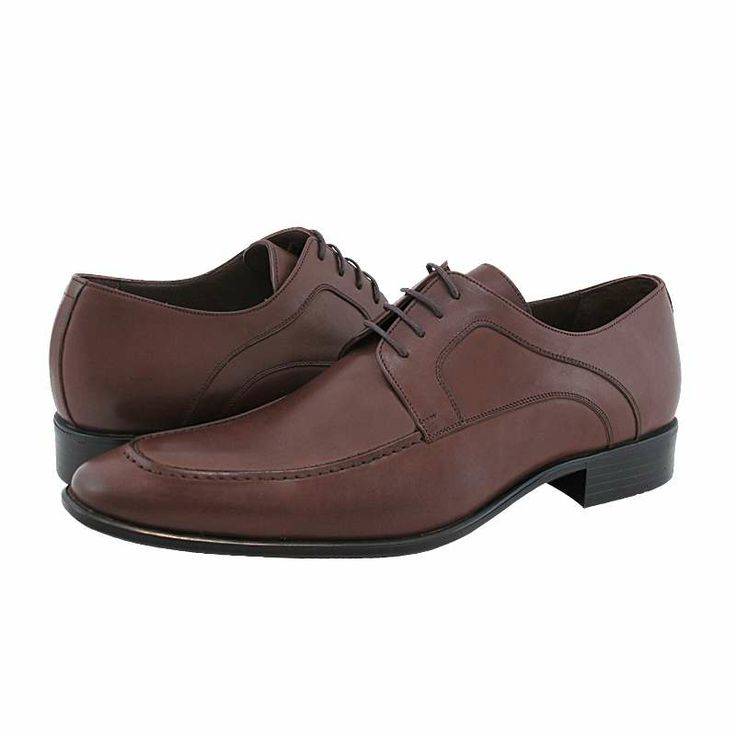Solt - Ανδρικά παπούτσια GK Uomo από δέρμα με δερμάτινη φόδρα και συνθετική σόλα.