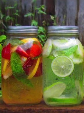 How to make healthy flavored water! #StyleMadeSimple