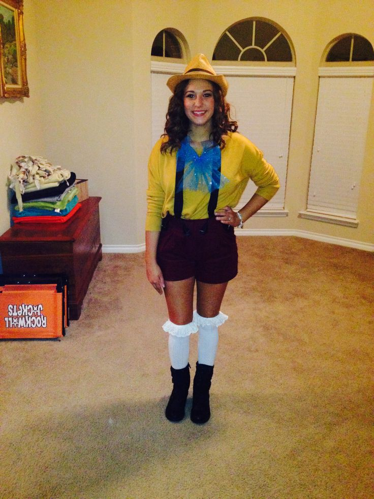 DIY Disney Costume Pinocchio! | My Style | Pinterest ...