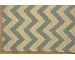 Hand made Chevron design wool pile area rug.