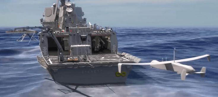 L'armée américaine dévoile un bras pour attraper ses drones en plein vol