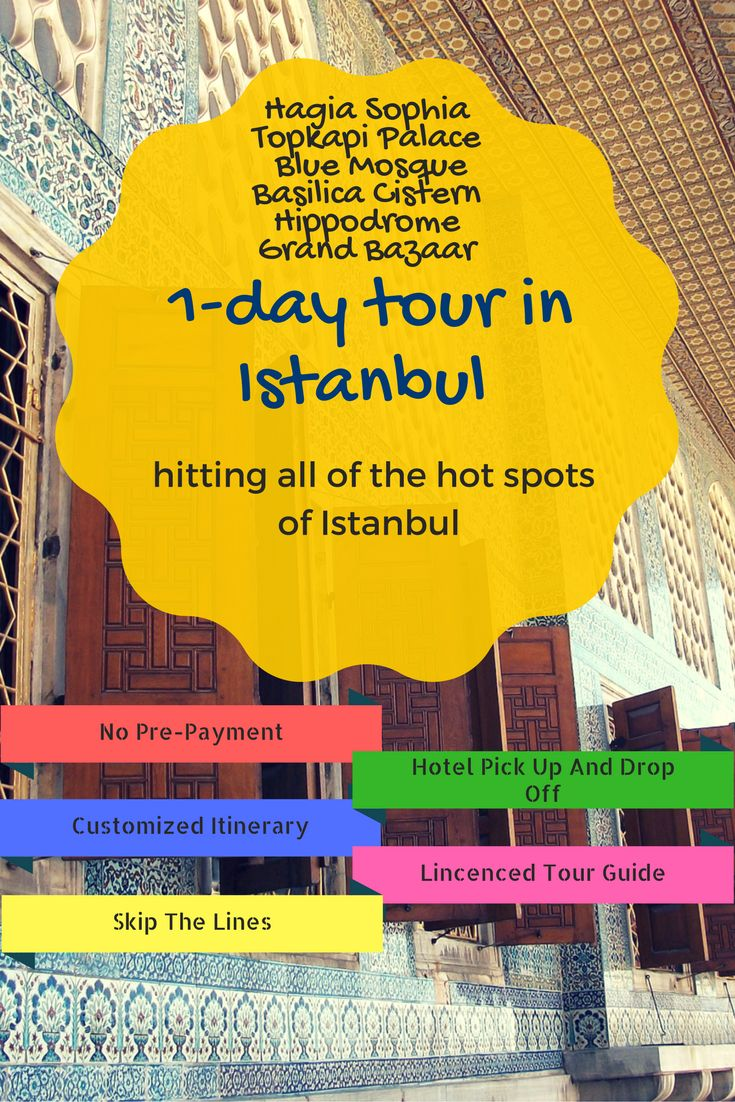 1 day #tour in #Istanbul, hit the hot spots of Istanbul by licenced local tour guides of Real #Istanbul #Tours