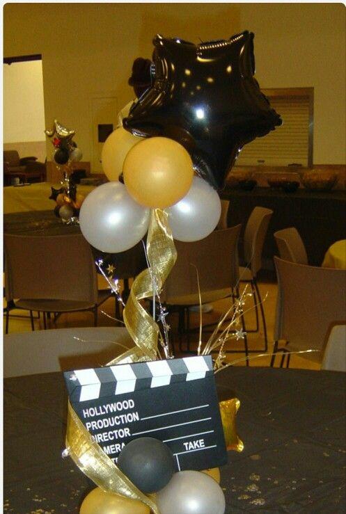 Balloon Table Centerpieces