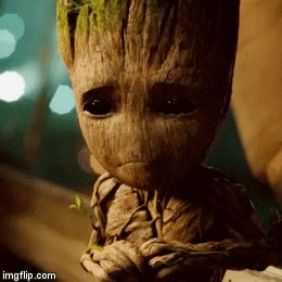 Ok, who made Groot cry?-I will fuck up whoever made baby Groot cry.