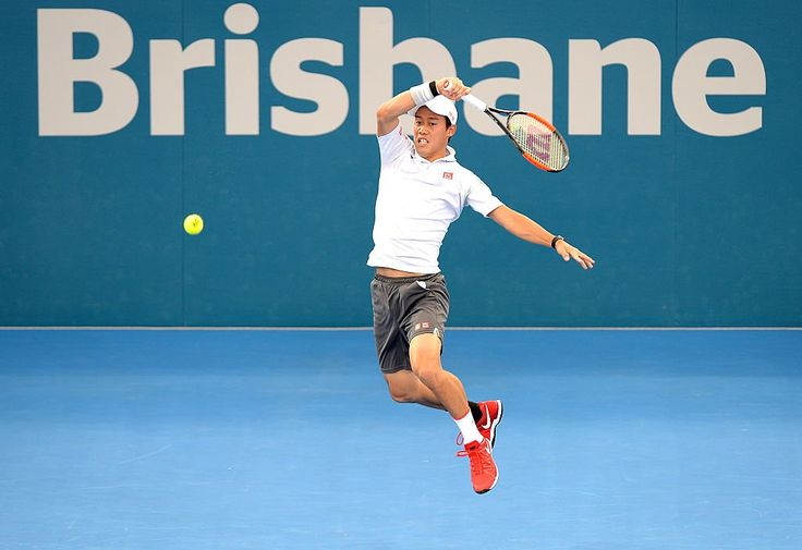 BrisbaneTennis Oh, Kei!  #BrisbaneTennis final with a red-hot win over #Wawrinka, 7-6(3) 6-3. Awaits Raonic or Dimitrov ■2017/01/08 Final vs Grigor Dimitrov