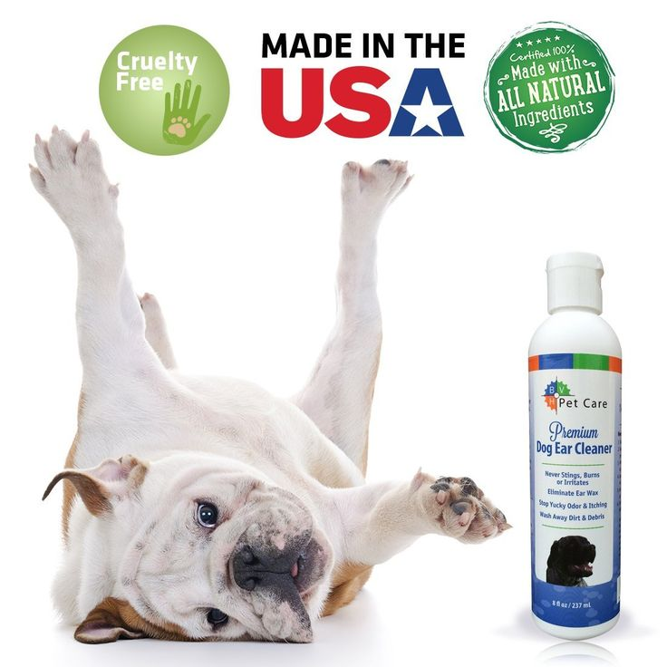 Ear Cleaner for Dogs from BVH Pet Care Prevents 'Dog Crying'